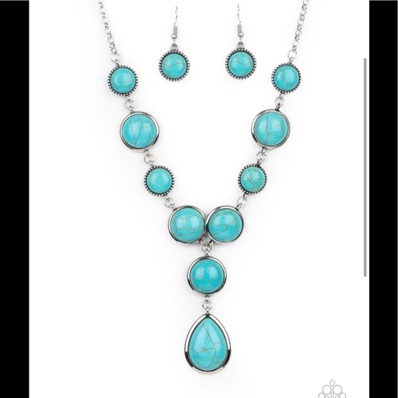 4 for $20 turquoise necklace